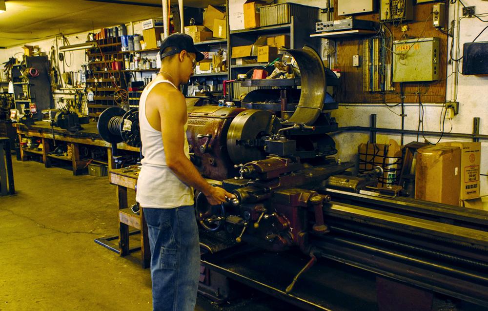 Machine & Fabrication : Raceway Technology (Tacoma, WA)